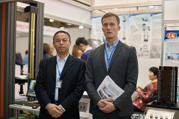 Фотоотчет с выставки Testing and Control 2018 - Liangong 26