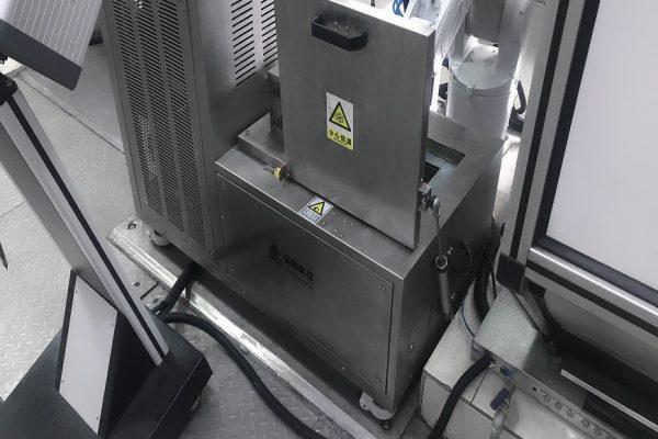 Роботизированная система подачи охлажденных образцов на маятниковый копер Liangong