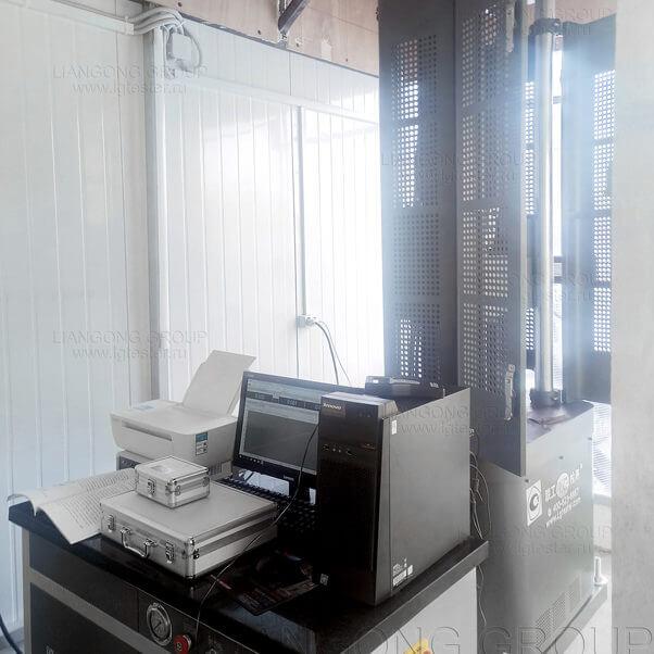 Поставка машины Liangong WAW-1000B для арматурных канатов
