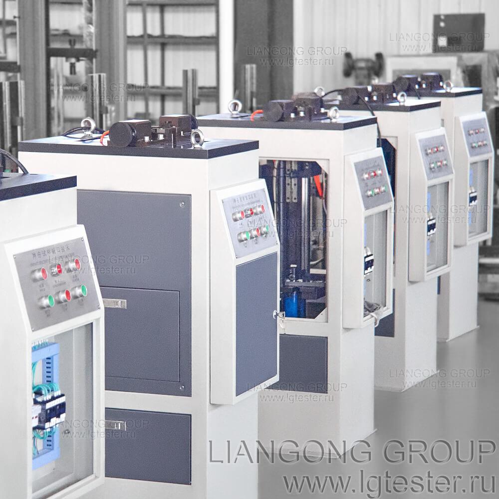 Станки Liangong CSL-Y в сборочном цехе