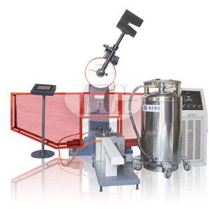 Автоматизированные маятниковые копры с сенсорным дисплеем и криостатом Liangong JBDS-C