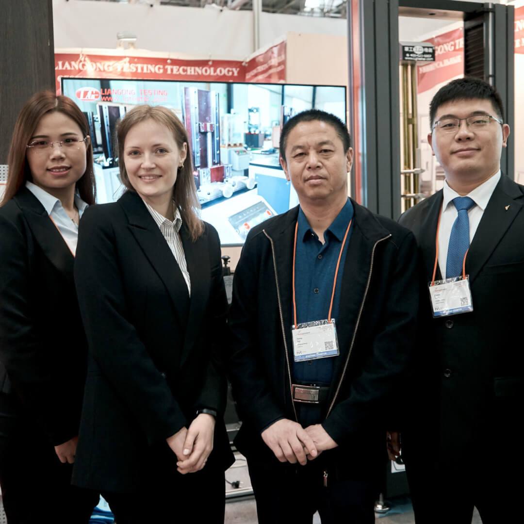 Эльфмек и Liangong Group на выставке Testing and Control 2019