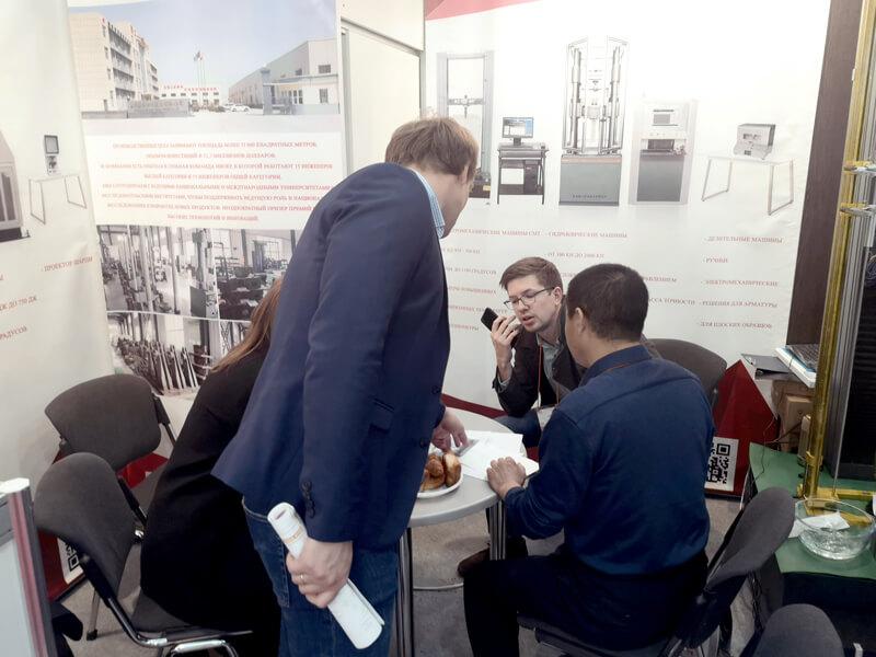 Liangong на выставке Testing and Control 2019 6