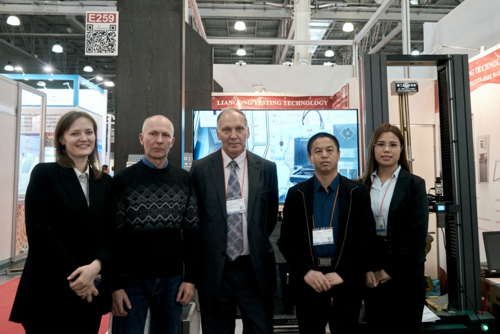 Встреча с клиентами на выставке Testing and Control 2019 Liangong