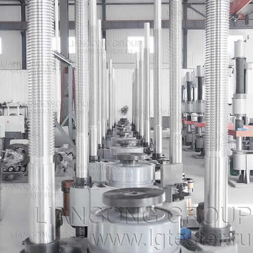 Конструкция гидроцилиндра гидравлических машин Liangong B