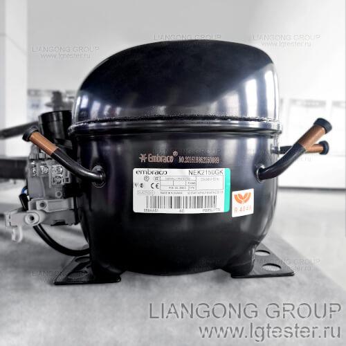 Компрессоры в криокамере Liangong